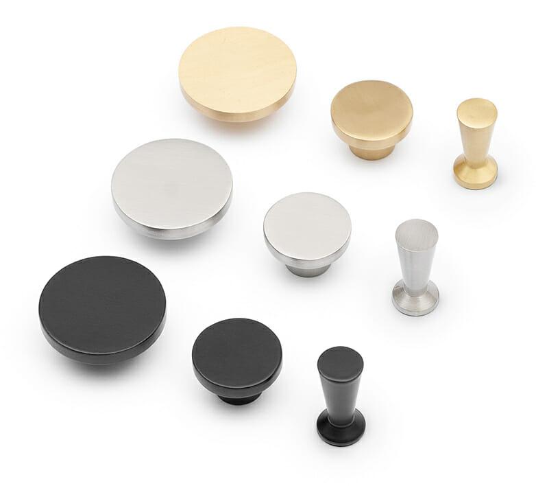 TYSK Design Wandhaken in verschiedenen Größen und Farben (Gold, Silber, Schwarz)