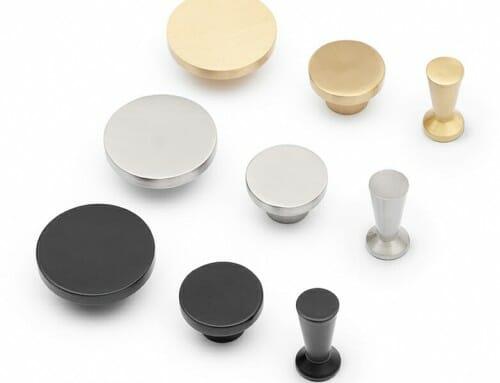 Wandhaken und Möbelgriffe von TYSK Design